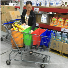Non woven bag Shopping Cart Insulated Grab Bag