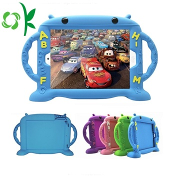 Houvast siliconen tablet hoesje Ipad Kid's tablet hoes