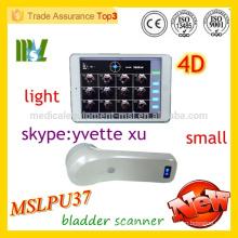 MSLPU37M 4D drahtloser Blasenscanner Protable Blasenscanner Ultraschallarbeit mit iphone / ipad / orriod