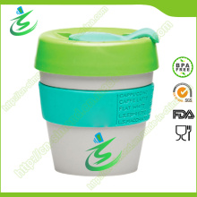 8 Oz Wholesale PP Coffee Cup avec couverture, sans BPA
