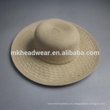 Chino, adultos, llano, papel, paja, sombrero