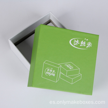 Caja de papel Natual Color Lid And Base Soap