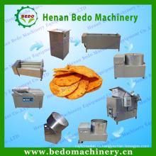 БАЙДУ разную форму 60кг/ч свежий картофельные чипсы производственной линии