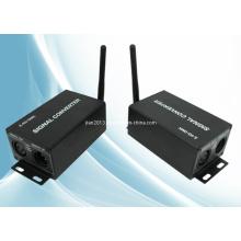 Transmissor e receptor sem fio DMX 2.4G