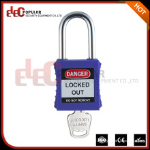 Elecpopular China Goods Cheap PA Plastic Lock Out cadenas de sécurité Wth Master Key