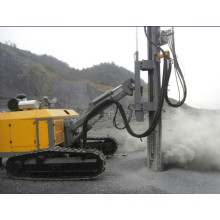 Rotary borehole drilling blast hole drill rig for mining