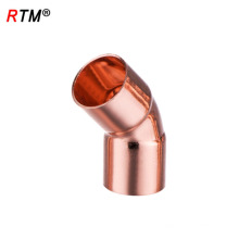 J 17 4 10 raccord de tuyau de gaz de montage de réfrigération raccord de coude de coude de 60 degrés