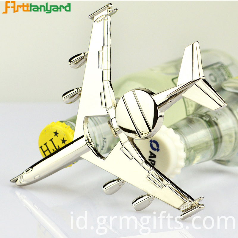 Customized Aircraft Bottle Opener
