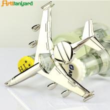 Angepasste Flugzeug Flaschenöffner mit Nickel