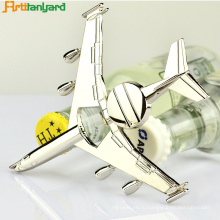Customized Aircraft Bottle Opener With Nickel