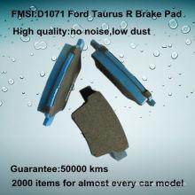 Ford Taurus OE qualidade travão traseiro pad D1071