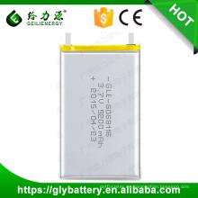 GLE-6068116 Li Polymer batería recargable 3.7V 5200mAh