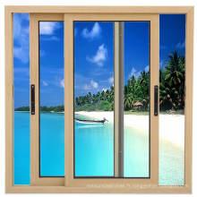 Fenêtre en verre coulissante horizontale d'alliage d'aluminium