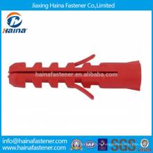 Ancrages de dilatation en béton en plastique, ancrages en plastique en nylon