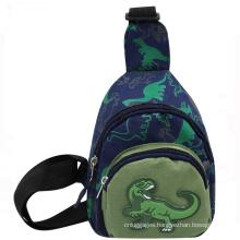 Cute Sling Bags Cartoon Dinosaur Children Chest Bag For Boys
