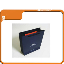 Cheap Black Clothing Packaging Art Paper Bag with Handles
