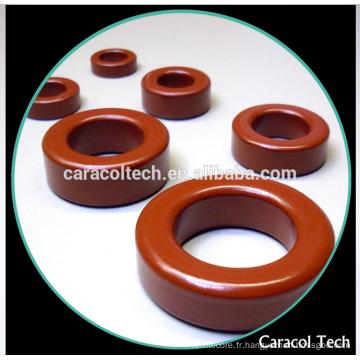 T200-2 Noyau de fer toroïdal en poudre