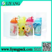 Цветок и мультфильм дизайн, пленка передачи тепла для пластичной бутылки воды