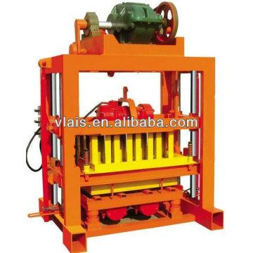 Betonblock QTJ4-40B, der Maschine, Ziegelsteinherstellungsmaschine bildet