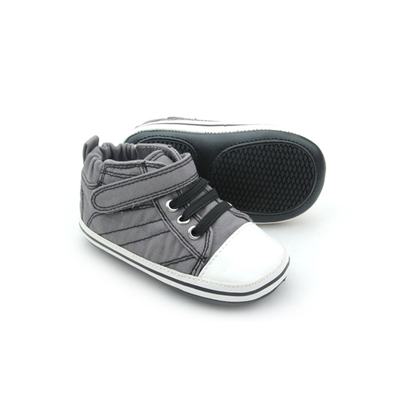 Individuality Grey Cotton Children Casual Shoes Wholesales