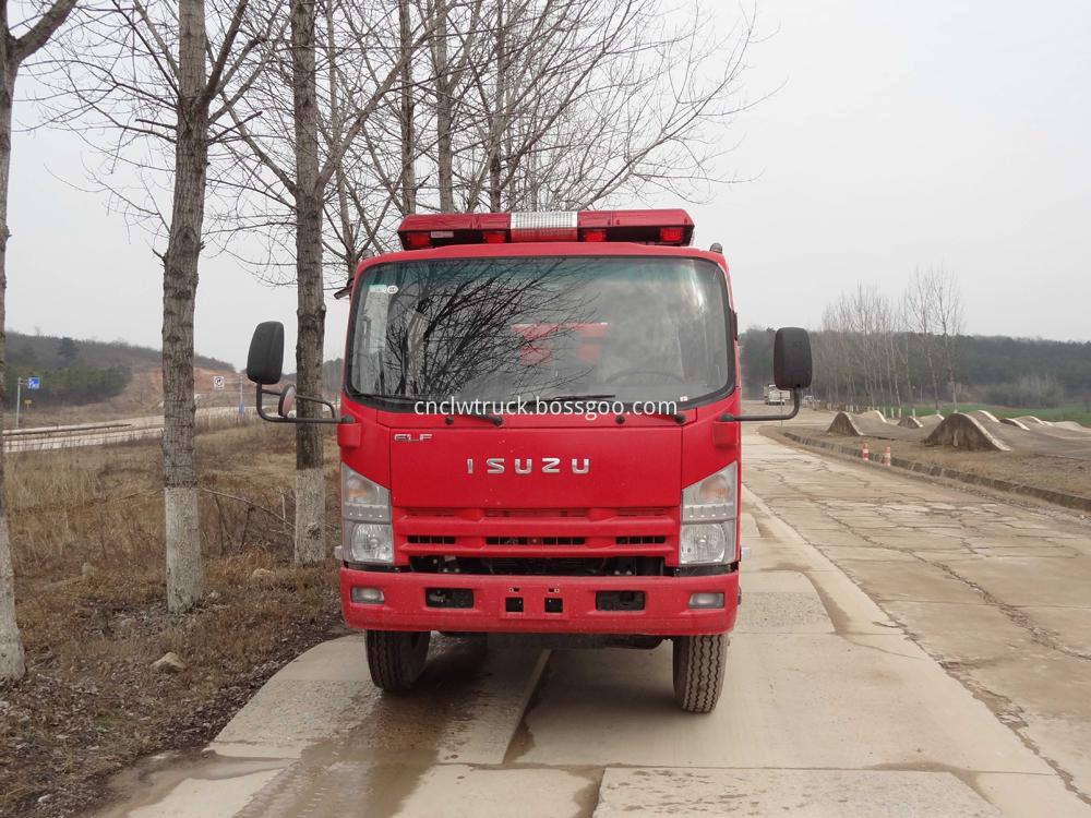 fire fighting foam truck 1