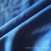 Elegent wickelte blauen Mikrofaser-Schmuckausstellungsstand ein