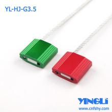 Selo descartável ajustável do cabo do cadeado do metal do caminhão da alta segurança para o recipiente ou o tanque