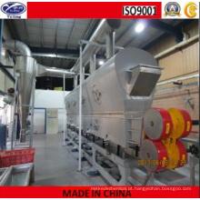 Máquina de secagem de leito fluidizado vibratório com fosfato de potássio