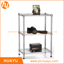3 Tier Chrome / Powder Coated Homeware Kitchenware Wire Shelving
