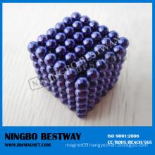 5mm 216PCS Purple Neocube