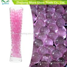 Vente chaude de cristal de gel de l'eau de sol de perles de scintillement de vente