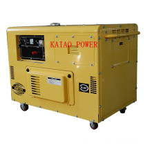 AC Single Phase 50Hz/8kw Key Start Silent Diesel Generator for Shop Use (KDE12T)