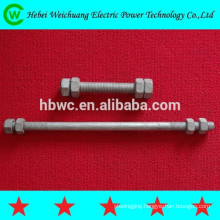 China supplier good quality best price hex head bolt and nut