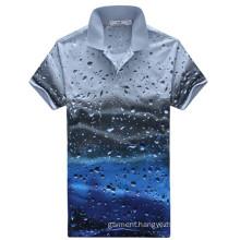 Fashion Custom Polo Shirt, Short Sleeve Polo T-Shirt for Man