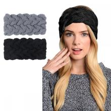 Crochet Knitted Turban Headwrap