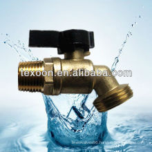 Lead free Hose Bibb-Quarter Turn Valve (Brass construction,Solder cup or MIP to hose connections) QT56X050