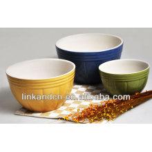 Cuenco de cerámica de gran volumen