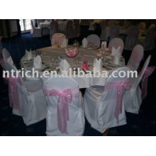 100%polyester chair cover,banquet/hotel chair covers,chair sash