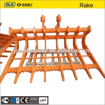 root rake excavator attachment rake for hyundai xuwa xugong