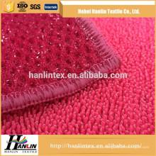 Alta qualidade personalizado personalizado tingido 2015 china barato fabrica de toalha de banho tecido de microfibra