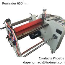 Large Diameter to Small Diameter Unwinder Rewinder