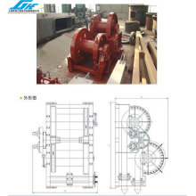 Hydraulic Waterfall Winch (GHE-16)