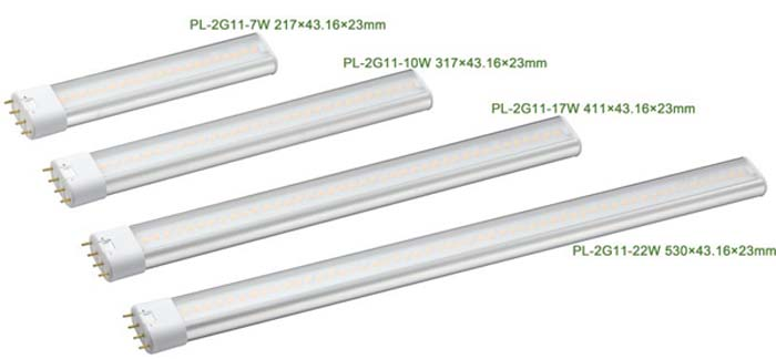 2G11 2G11 LED tube light PL light package