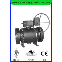 Metal Seat Industrial Ball Valve