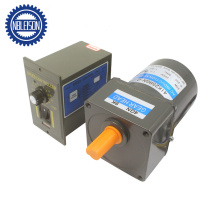25W Single Phase 220V Speed Control AC Electric Motor with Gearbox