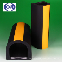 Corner protector for parking and warehouse by Ohji Rubber & Chemicals Co., Ltd. Made in Japan (stainless steel corner guard)