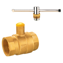J9280 lockable brass gas ball valve