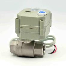 Cierre rápido Control eléctrico NSF válvula de bola Actuador Auto RoHS Válvula de agua con Ce (T15-S2-B)