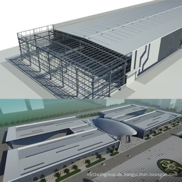 Vorgefertigtes Stahlkonstruktionsgebäude
