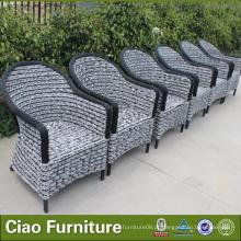 Cadeira de jardim ao ar livre da mobília da mesa de jantar do fósforo